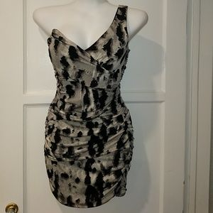 Frederick's of Hollywood one shoulder mini dress